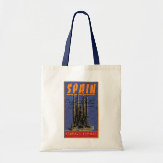 Spain-Barcelona-Tote Bag