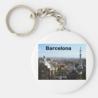 Spain Barcelona View (St.K) Key Ring