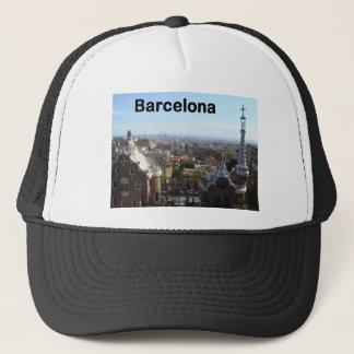 Spain Barcelona View (St.K) Trucker Hat