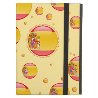 Spain Bubble Flag Cover For iPad Air