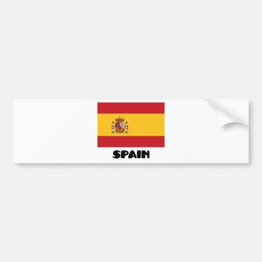 Spain Bumper Sticker