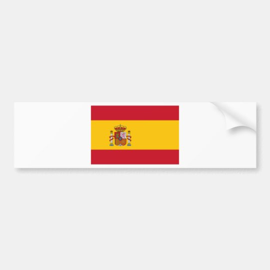 Spain Bumper Sticker