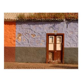 Spain, Canary Islands, Tenerife, villa Postcard