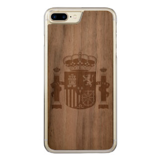 Spain Carved iPhone 7 Plus Case