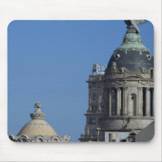 Spain, Catalonia, Barcelona. Barcelona roof top 2 Mouse Mat