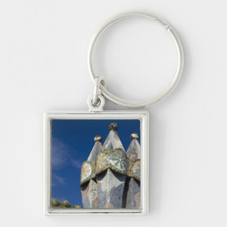 Spain, Catalonia, Barcelona. Casa Batllo (1906). Key Ring