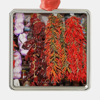 Spain, Catalonia, Barcelona, La Boqueria Market Christmas Ornament