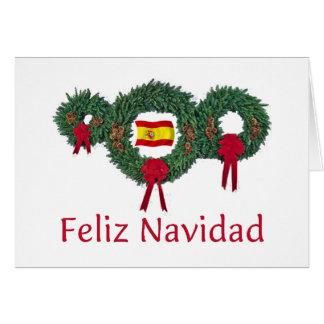 Spain Christmas 2 Card