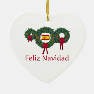 Spain Christmas 2 Christmas Ornament
