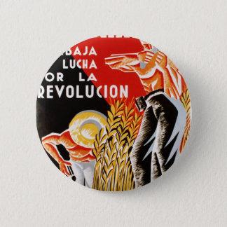 Spain civil war CNT-FAI original poster 1936 6 Cm Round Badge