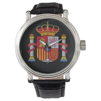 Spain* Coat of Arms Custom Watch