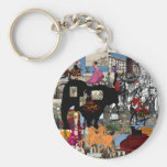 Spain collage Spanish culture gifts Keychains