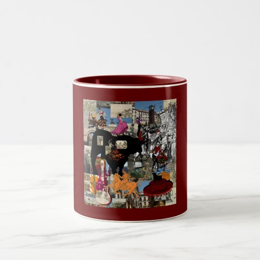 Spain collage Spanish culture gifts Coffee Mug