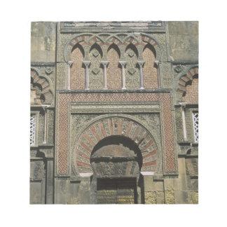 Spain, Cordoba, Moorish mezquita (mosque). Notepad