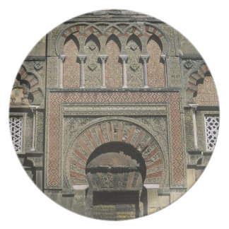 Spain, Cordoba, Moorish mezquita (mosque). Plate