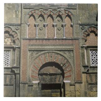 Spain, Cordoba, Moorish mezquita (mosque). Tile