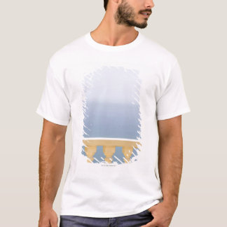Spain, Costa Blanca, View of sea over balustrade T-Shirt