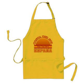 SPAIN Costa Del Sol custom apron - choose style