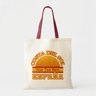 SPAIN Costa Del Sol custom bag - choose style