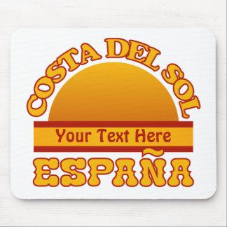 SPAIN Costa Del Sol custom mousepad