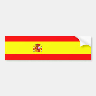 Spain country flag spanish nation symbol bumper sticker