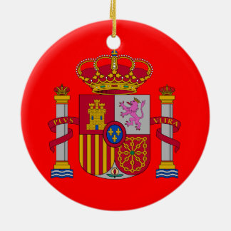Spain* Custom Christmas Ornament