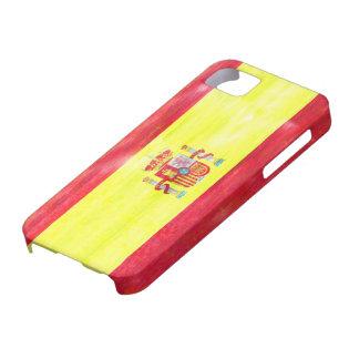 Spain distressed Spanish flag iPhone 5 Cases