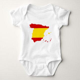 Spain ES Baby Bodysuit