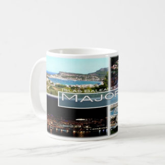 Spain - Espana - Balearic Islands - Majorca - Coffee Mug
