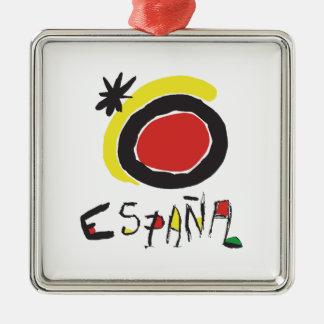 Spain - España Christmas Ornament