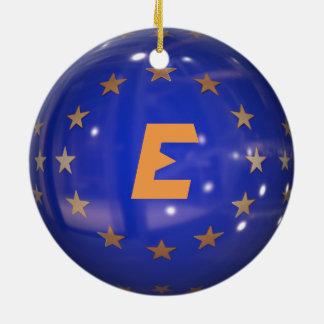 Spain European Union Christmas Ornament