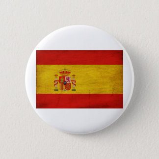 Spain Flag 6 Cm Round Badge