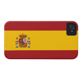 Spain Flag Barely There™ iPhone 4 Case