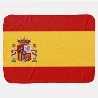 Spain Flag Buggy Blanket