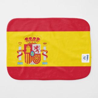 Spain Flag Burp Cloth