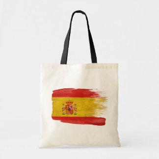Spain Flag Canvas Bags