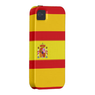 Spain Flag Case-Mate iPhone 4/4S Vibe Universal iPhone 4 Cover