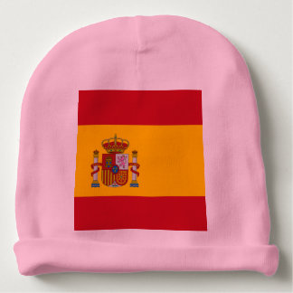Spain - Flag / España - Bandera Gorro Beanie Baby Beanie