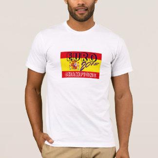 Spain flag Euro champions football tshirt