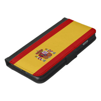 Spain Flag iPhone 6/6s Plus Wallet Case