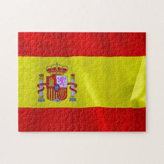 Spain Flag Jigsaw Puzzle