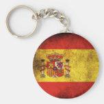 Spain Flag Key Chain