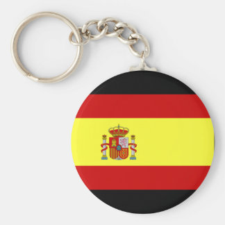 Spain Flag Key Ring