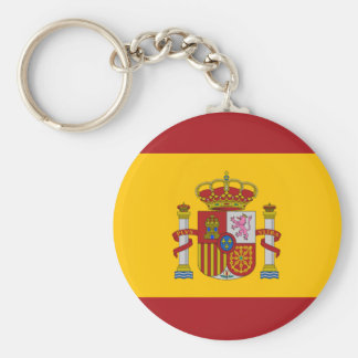Spain Flag Keychain