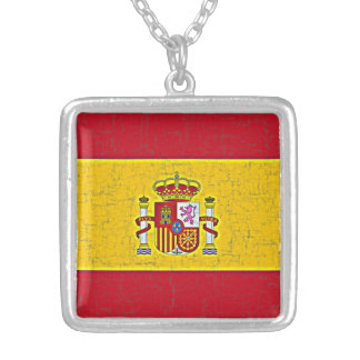SPAIN FLAG Necklace