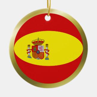 Spain Flag Ornament