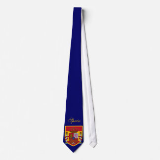 Spain Flag Personalized Tie