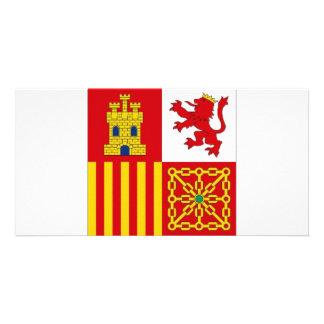 Spain Flag Photo Cards