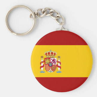 Spain flag quality key ring