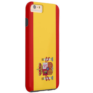 Spain Flag Tough iPhone 6 Plus Case